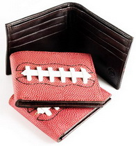 Football Leather Wallets great gift for a football fan