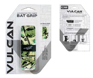 Vulcan Bat Wrap Helps with Making Explosive Ball Contact