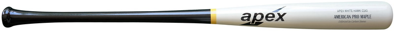 Apex Diamond Carbon Wrap Hawk Maple Baseball Bat bbcor approved 90 day warranty