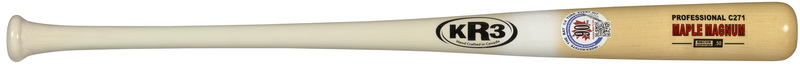 KR 3 Maple Magnum P72, 271, 110 90 Day Warranty (Pitchers Hate this Bat) BBCOR.50 Certified