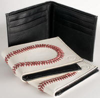 Real Baseball Leather Wallets